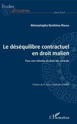 Dernières parutions dans Etudes africaines. Droit, Le déséquilibre contractuel en droit malien