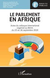 Dernières parutions sur Droit international public, Le parlement en Afrique