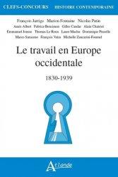 Dernières parutions sur Selections hors arbo, Le travail en europe occidentale, 1830-1939