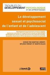 Le développement sexuel et psychosocial de l'enfant et de l'adolescent