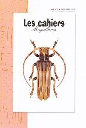 Dernières parutions dans Cahiers Magellanes nouvelle série, Les cahiers Magellanes décembre 2019