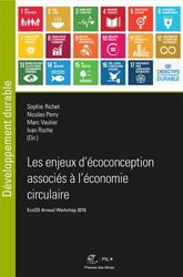Dernières parutions sur Economie et politiques de l'écologie, Les enjeux d'écoconception associés à l'économie circulaire