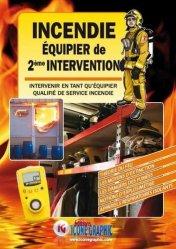 Nouvelle édition Le livre incendie - équipier de seconde intervention