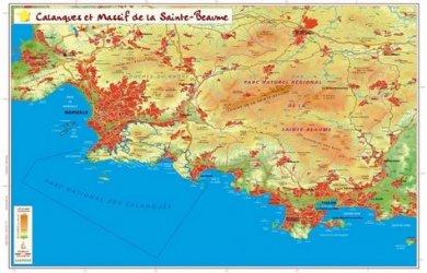 Dernières parutions sur Cartographie, Les calanques et le massif de la Sainte-Beaume
