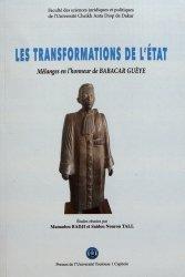 Dernières parutions sur Droit constitutionnel, Les transformations de l'Etat