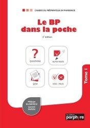 Dernières parutions sur Pharmacie, Le BP dans la poche. Tome 1, 3e édition