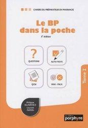 Dernières parutions sur Pharmacie, Le BP dans la poche. Tome 2, 3e édition