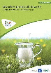 Dernières parutions sur Alimentation, Les acides gras du lait de vache : composition et maîtrise par l'alimentation