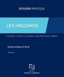 Dernières parutions sur Histoire du droit, Les Holdings