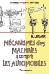 Dernières parutions sur Auto - Moto - Vélo, Les mécanismes des machines y compris les automobiles