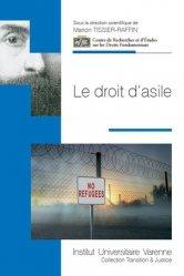 Dernières parutions dans Transition & justice, Le droit d'asile