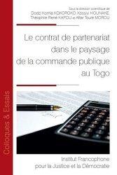 Dernières parutions sur Droit international public, Le contrat de partenariat dans le paysage de la commande publique au Togo