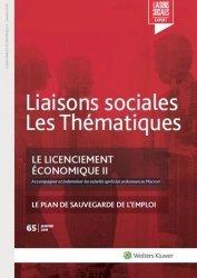 Dernières parutions sur Guides pratiques, Le licenciement économique II. Accompagner et indemniser les salariés après les ordonnances Macron