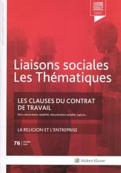 Dernières parutions dans Liaisons sociales, Les clauses du contrat de travail