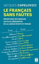 Dernières parutions sur Expression écrite, Le français sans fautes