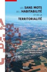 Dernières parutions sur Urbanisme, Les sans mots de l'habitabilité et de la territorialité