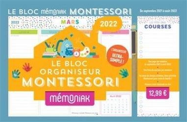 Nouvelle édition Le bloc Mémoniak Montessori livre médecine 2021, livres médicaux 2022, livres médicaux 2021, livre de médecine 2022