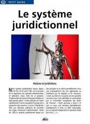 Dernières parutions sur Autres ouvrages de droit pénal, Le système juridictionnel