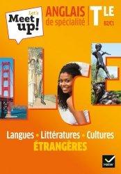 Dernières parutions sur Terminale, Let's Meet up ! LLCE Anglais Tle - Éd. 2020 - Livre élève