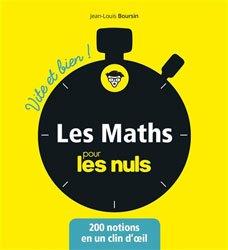 Dernières parutions sur Maths et culture, Les mathématiques pour les Nuls