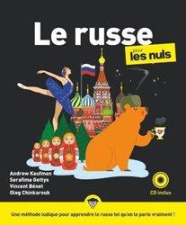 Dernières parutions sur Auto apprentissage, Le russe pour les nuls