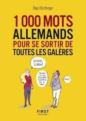 Dernières parutions sur Guides de conversation, Les 1000 mots allemands pour se sortir de toutes les galères