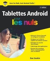 Dernières parutions sur Multimédia - Graphisme, Les tablettes android pour les nuls