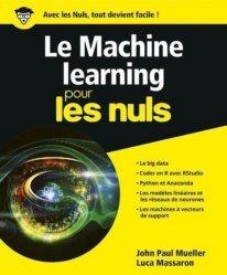 Dernières parutions sur Intelligence artificielle, Le Machine learning pour les nuls