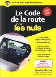 Nouvelle édition Le code de la route pour les nuls. Edition 2020-2021