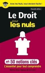 Dernières parutions sur Culture générale, Le droit pour les nuls en 50 notions clés. 2e édition