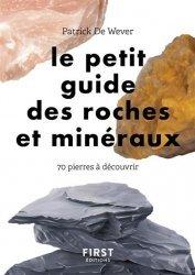 Dernières parutions sur Nature - Jardins - Animaux, Le petit guide de reconnaissance des pierres et minéraux
