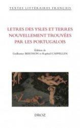 Dernières parutions sur Récits de voyages-explorateurs, Lettres des ysles et terres nouvellement trouvées par les Portugalois