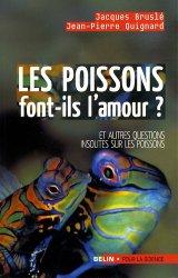 Dernières parutions sur Poissons, Les poissons font-ils l'amour ?