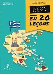 Dernières parutions sur Auto apprentissage, Le grec en 20 leçons