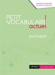 Dernières parutions sur Auto apprentissage, Le petit vocabulaire actuel portugais