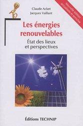 Nouvelle édition Les énergies renouvelables