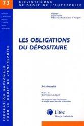 Dernières parutions dans Bibliothèque de droit de l'entreprise, Les obligations du dépositaire. Contribution à l'étude du contrat de dépôt