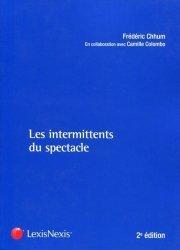 Dernières parutions dans Carré droit, Les intermittents du spectacle. 2e édition