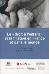 Dernières parutions sur Filiation et adoption, Le