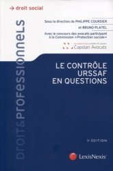 Dernières parutions dans Droit & Professionnels, Le contrôle URSSAF en questions. 3e édition