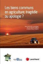 Dernières parutions sur Droit rural, Les biens communs en agriculture