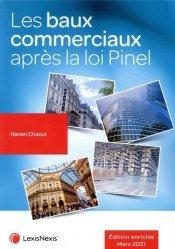 Dernières parutions sur Immobilier et droit de la construction, Les baux commerciaux après la loi Pinel
