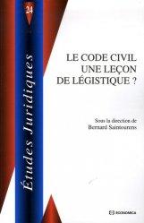 Dernières parutions dans Etudes juridiques, Le Code civil une leçon de légistique ?