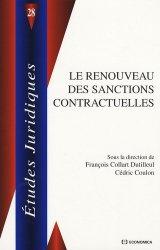 Dernières parutions dans Etudes juridiques, Le renouveau des sanctions contractuelles