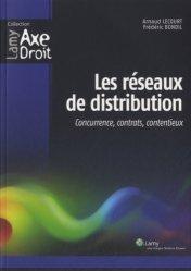Dernières parutions dans Axe Droit, Les réseaux de distribution