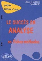 Souvent acheté avec Statistique Estimation des incertitudes, le Le succès en analyse en fiches méthodes