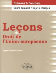 Dernières parutions dans Leçons de droit, Leçons de droit de l'Union européenne
