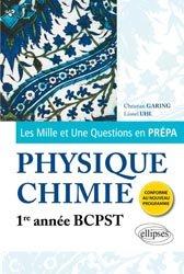 Souvent acheté avec Maths BCPST 1re année - Cours, synthèse et exercices corrigés, le Physique-Chimie