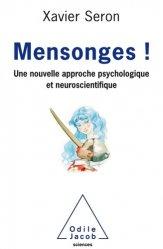 Dernières parutions dans Psychologie, Le Mensonge