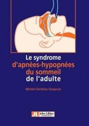 Le syndrome d'apnées-hypopnées du sommeil de l'adulte